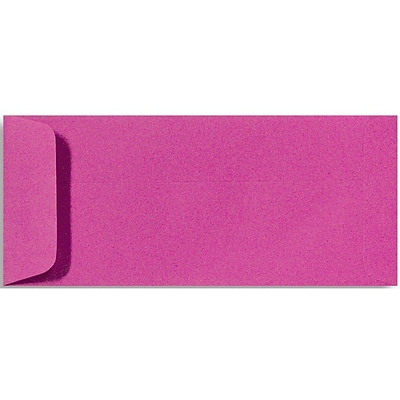 LUX® 70lbs. 4 1/8 x 9 1/2 Open End Envelopes, Magenta Pink, 500/BX