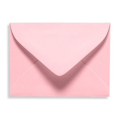 LUX® 2 11/16 x 3 11/16 70lbs. #17 Mini Envelopes W/Glue, Candy Pink, 50/Pack