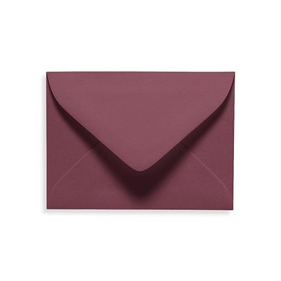 LUX #17 Mini Envelopes (2 11/16 x 3 11/16) 500/Box, Vintage Plum (LUXLEVC-104-500)