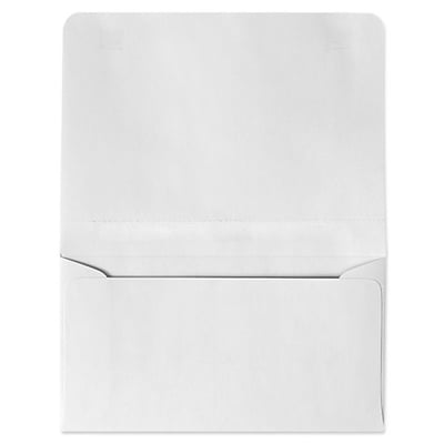 LUX® 4 1/4 x 6 1/2 #6 24lbs. 2-Way Envelopes, Bright White, 50/Pack