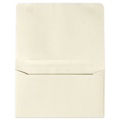 LUX® 4 1/4 x 6 1/2 #6 60lbs. 2-Way Envelopes, Cream, 500/Pack