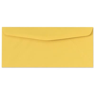 LUX® 60lbs. 3 7/8 x 8 7/8 #9 Regular Envelopes, goldenrod yellow, 250/BX