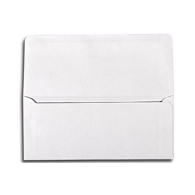 LUX® 3 7/8 x 8 7/8 #9 24lbs. Remittance, Donation Envelopes, Bright White, 50/Pack