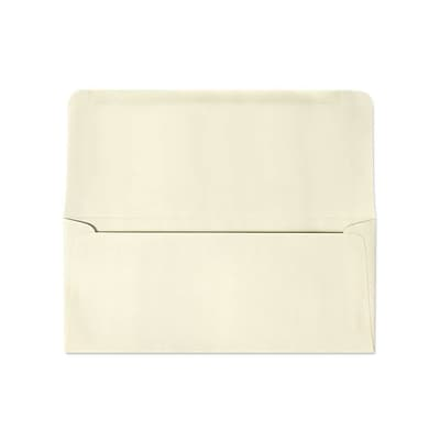LUX® 3 7/8 x 8 7/8 #9 60lbs. Remittance, Donation Envelopes, Cream, 50/Pack, 10 Packs/Box