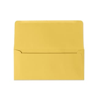 LUX® 3 7/8 x 8 7/8 #9 60lbs. Remittance, Donation Envelopes, goldenrod yellow, 50/Pack, 10 Packs/B
