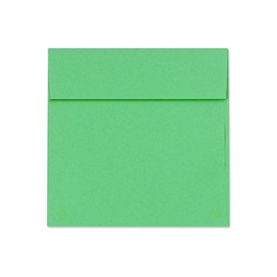 LUX 5 1/2 x 5 1/2 Square Envelopes 50/Box) 50/Box, Holiday Green (8515-12-50)
