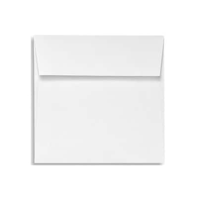 LUX® 5 1/2 x 5 1/2 80lbs. Square Flap Envelopes W/Peel & Press, Bright White, 50/Pack