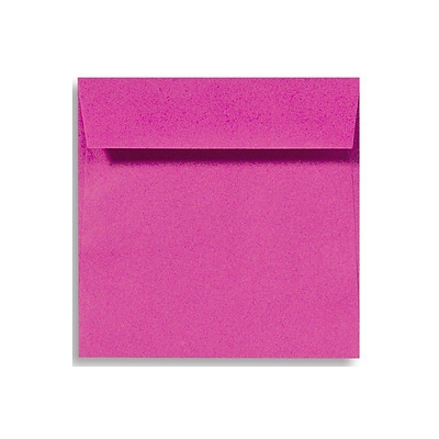 LUX 5 1/2 x 5 1/2 Square Envelopes 250/Box) 250/Box, Magenta (EX8515-10-250)