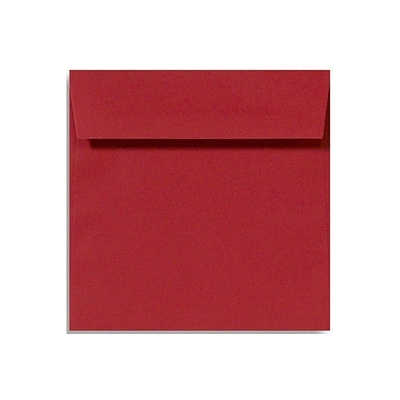 LUX 5 x 5 Square Envelopes 1000/Box) 1000/Box, Ruby Red (8505-18-1000)