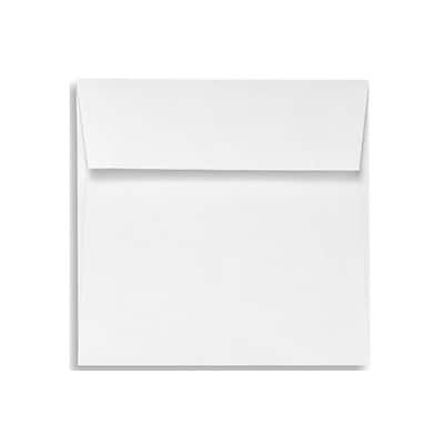 LUX 5 x 5 Square Envelopes 1000/Box) 1000/Box, White - 100% Recycled (8505-WPC-1000)