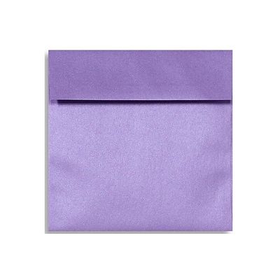LUX 6 1/2 x 6 1/2 Square Envelopes 50/Box) 50/Box, Amethyst Metallic (8535-17-50)