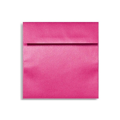 LUX 6 1/2 x 6 1/2 Square Envelopes 1000/Box) 1000/Box, Azalea Metallic (8535-24-1000)
