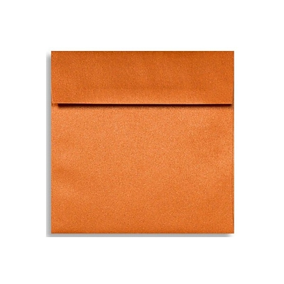 LUX 6 1/2 x 6 1/2 Square Envelopes 50/Box) 50/Box, Flame Metallic (8535-26-50)