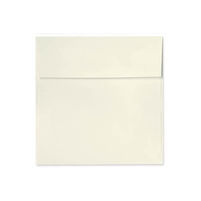 LUX 6 1/2 x 6 1/2 Square Envelopes 500/Box) 500/Box, Natural Linen (8535-NLI-500)