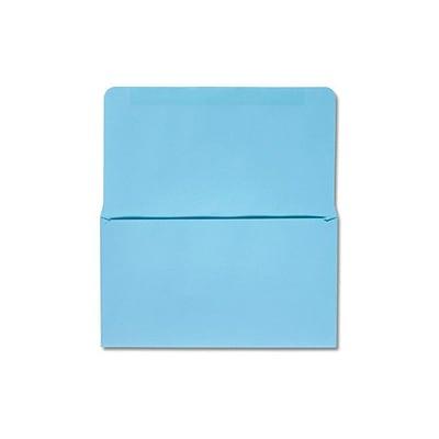 LUX® 3 1/2 x 6 6 1/4 24lbs. Remittance, Donation Envelopes, Pastel Blue, 500/Pack