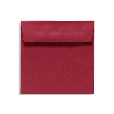 LUX 7 1/2 x 7 1/2 Square Envelopes 500/Box) 500/Box, Garnet (EX8555-26-500)