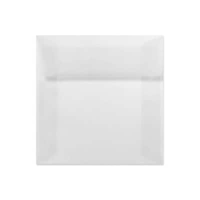 LUX 7 x 7 Square Envelopes 250/Box) 250/Box, Clear Translucent (8545-50-250)