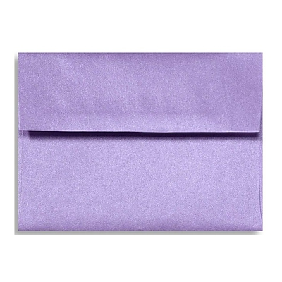 LUX A1 Invitation Envelopes (3 5/8 x 5 1/8) 1000/Box, Amethyst Metallic (5365-17-1000)
