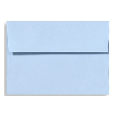 LUX A1 Invitation Envelopes (3 5/8 x 5 1/8) 500/Box, Baby Blue (EX4865-13-500)