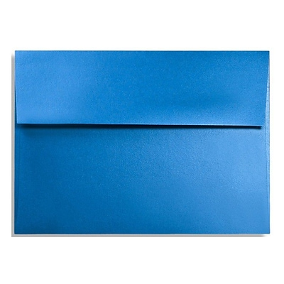 LUX A1 Invitation Envelopes (3 5/8 x 5 1/8) 1000/Box, Boutique Blue (FA4865-02-1000)