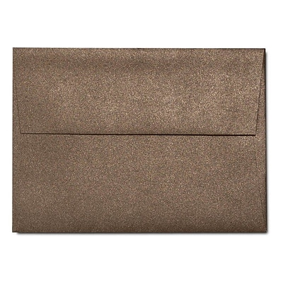 LUX A1 Invitation Envelopes (3 5/8 x 5 1/8) 500/Box, Bronze Metallic (5365-12-500)