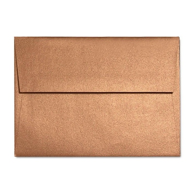 LUX A7 Invitation Envelopes (5 1/4 x 7 1/4) 50/Box, Copper Metallic (5380-11-50)