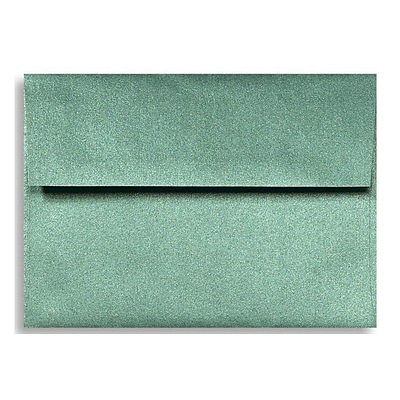 LUX A1 Invitation Envelopes (3 5/8 x 5 1/8) 50/Box, Emerald Metallic (5365-14-50)