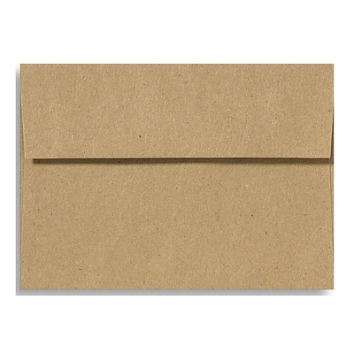 LUX A1 Invitation Envelopes (3 5/8 x 5 1/8) 250/Box, Grocery Bag (4865-GB-250)