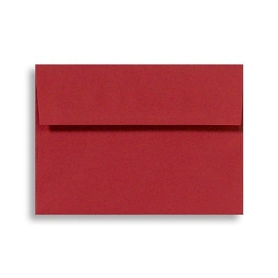 LUX A1 Invitation Envelopes (3 5/8 x 5 1/8) 1000/Box, Holiday Red (FE4265-15-1000)