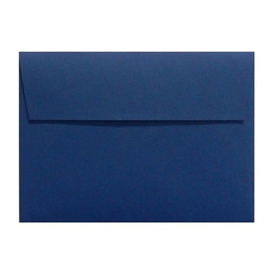 LUX® 80lbs. 3 5/8 x 5 1/8 A1 RSVP, Invitation Envelopes W/Peel & Press, Navy Blue, 1000/BX