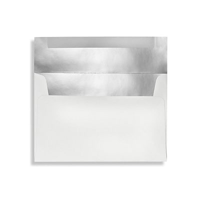 LUX® 3 5/8 x 5 1/8 90lbs. A1 Invitation Envelopes  W/Glue, Private Mirror, 50/Pack