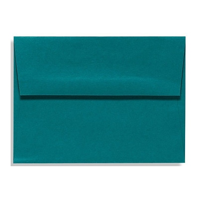 LUX A1 Invitation Envelopes (3 5/8 x 5 1/8) 500/Box, Teal (EX4865-25-500)