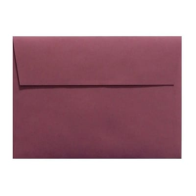 LUX A1 Invitation Envelopes (3 5/8 x 5 1/8) 50/Box, Vintage Plum (LUX-4865-104-50)