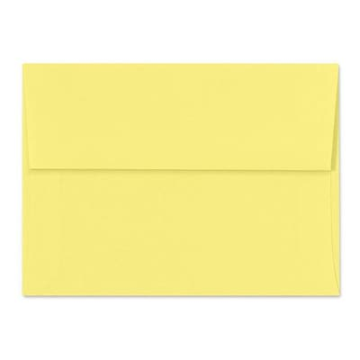 LUX A2 (4 3/8 x 5 3/4) 1000/Box, Pastel Canary (SH4270-02-1000)