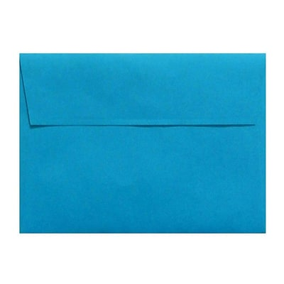LUX A4 Invitation Envelopes (4 1/4 x 6 1/4) 500/Box, Pool (LUX-4872-102500)