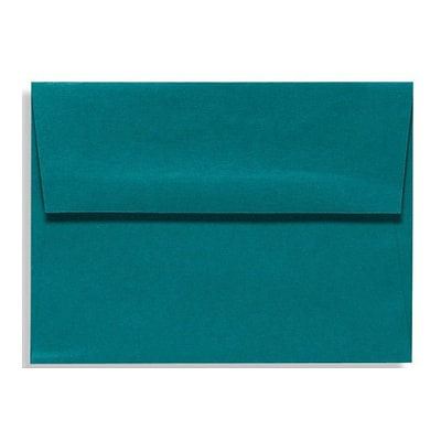 LUX A4 Invitation Envelopes (4 1/4 x 6 1/4) 250/Box, Teal (LUX-4872-25-250)