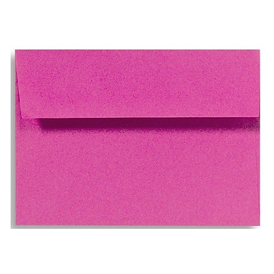 LUX A6 Invitation Envelopes (4 3/4 x 6 1/2) 50/Box, Magenta (EX4875-10-50)