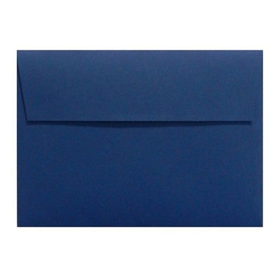 LUX A6 Invitation Envelopes (4 3/4 x 6 1/2) 500/Box, Navy (LUX-4875-103500)