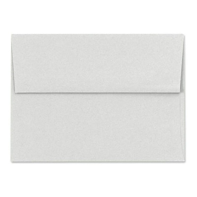 LUX A6 Invitation Envelopes (4 3/4 x 6 1/2) 500/Box, Pastel Gray (SH4275-03-500)