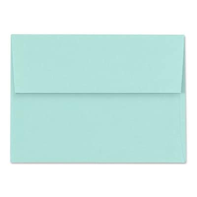 LUX A6 Invitation Envelopes (4 3/4 x 6 1/2) 250/Box, Seafoam (LUX-4875-113250)
