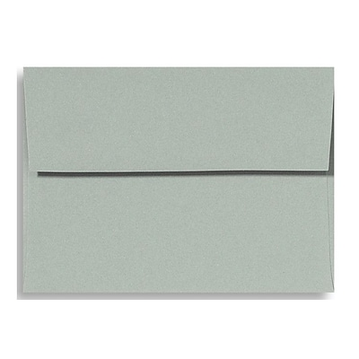 LUX A6 Invitation Envelopes (4 3/4 x 6 1/2) 50/Box, Slate (ET4875-14-50)
