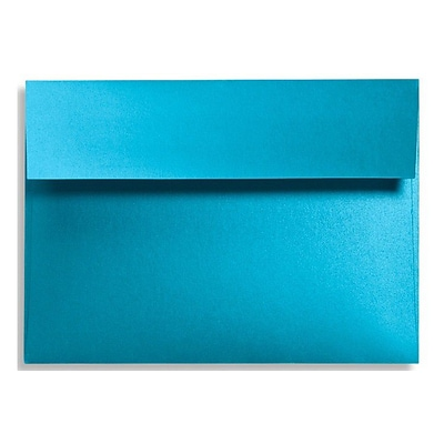 LUX A6 Invitation Envelopes (4 3/4 x 6 1/2) 500/Box, Trendy Teal (FA4875-07-500)