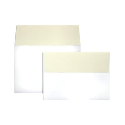 LUX® 5 1/4 x 7 1/4 A7 Invitation Envelopes W/Peel & Press, Natural Flap, 1000/BX