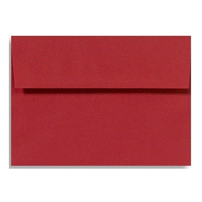 LUX A7 Invitation Envelopes (5 1/4 x 7 1/4) 250/Box, Holiday Red (FE4280-15-250)