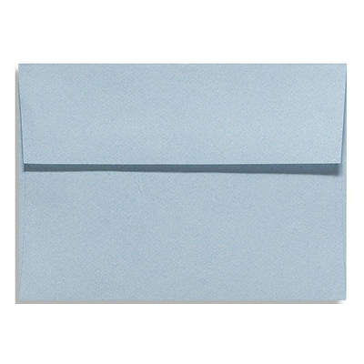LUX® 81lbs. 5 1/4 x 7 1/4 A7 Invitation Envelopes W/Glue, Light Wash Blue, 500/BX