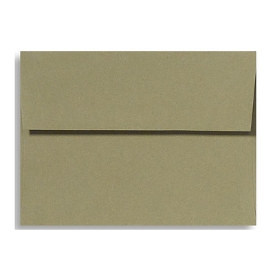 LUX® 70lb 5 1/4x7 1/4 A7 Invitation Envelopes W/Glue, Moss Green, 250/BX