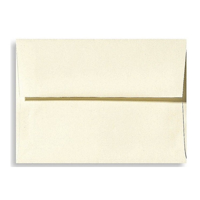 LUX A7 Invitation Envelopes (5 1/4 x 7 1/4) 500/Box, Natural Linen (4880-NLI-500)