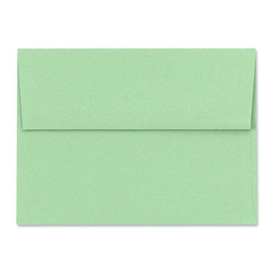 LUX A7 Invitation Envelopes (5 1/4 x 7 1/4) 1000/Box, Pastel Green (SH4280-04-1000)