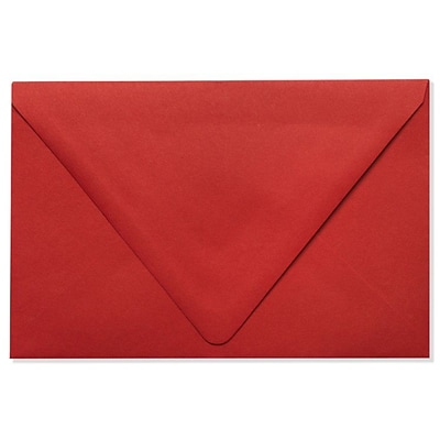 LUX® 70lbs. 5 3/4 x 8 3/4 A9 Invitation Envelopes W/Glue, Ruby Red, 1000/BX