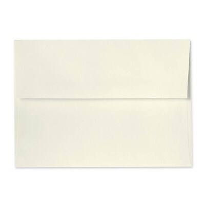 LUX® 5 3/4 x 8 3/4 70lbs. A9 Invitation Envelopes W/Glue, Natural, 50/Pack